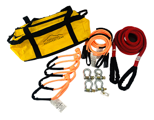 Vehicle to Vehicle Recovery Kits for up to 2500 lb GVW with K.E.R.R. Rope