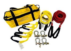 Vehicle to Vehicle Recovery Kits for up to 4000 lb GVW with K.E.R.R. Rope