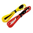 "Tuff-X 7/16"" Winch Extender / Bridle MBS 20,000 Lbs Fire Cracker Red and Lemon Yellow"